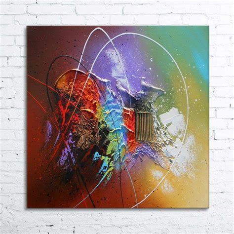peinture acrylique moderne abstrait quot ka 207 tos quot tableau abstrait moderne peinture acrylique en relief nathalie robert