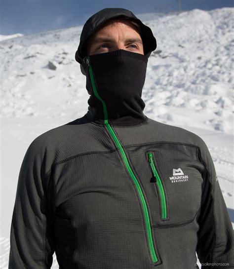 mountain equipment eclipse hooded zip tee blister gear