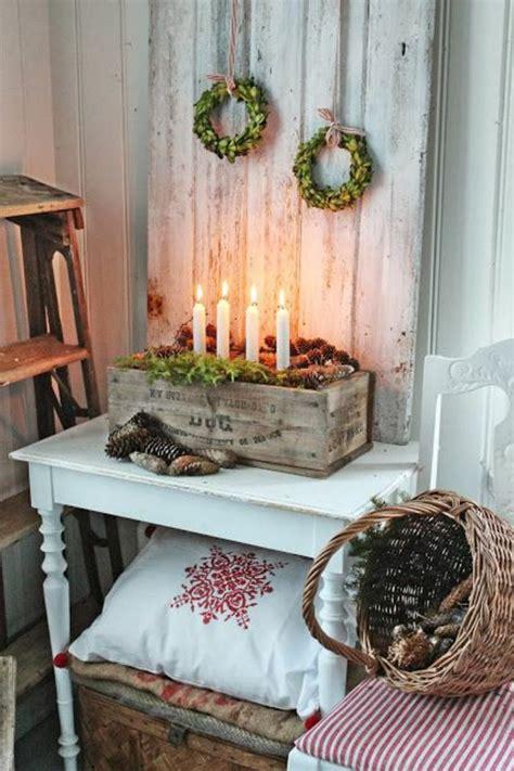 Weihnachtsdeko Fenster Landhaus by 42 Herrliche Ideen F 252 R Landhaus Deko Weihnachtsdeko
