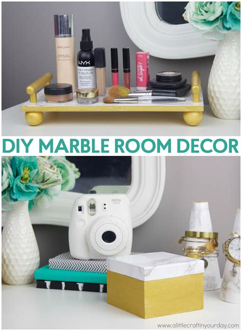 room decor diy marble room decor a little craft in your day