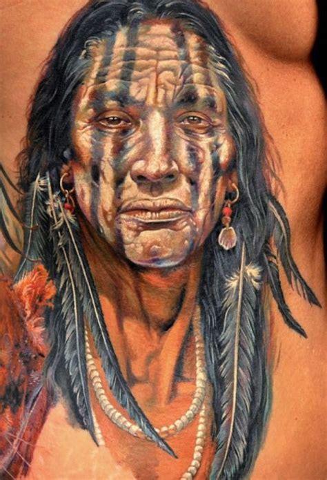 tato suku indian apache terbaik senitatonet