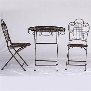 Gartenmöbel 3er Set : gartenm bel set tisch klappst hle 3er set 1 klapptisch 2 st hle garten balkon ~ Indierocktalk.com Haus und Dekorationen