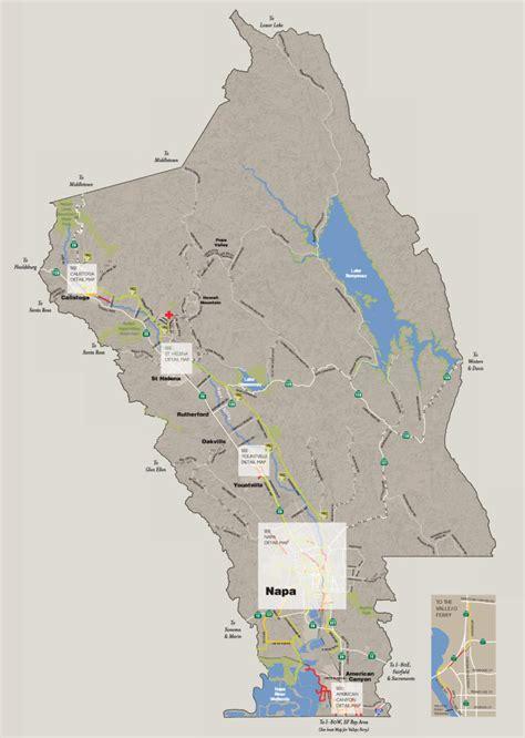 napa valley bike map recreation napa valley vine trail