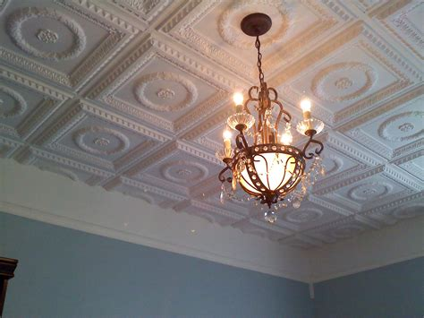 Faux Tin Ceiling Tiles In Glen Cove , New York