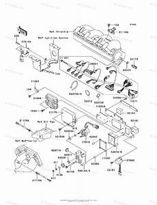 Kawasaki Jet Ski 2010 Oem Parts Diagram For Fuel Injection