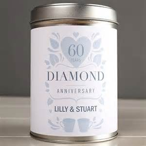 60th wedding anniversary gifts 60th wedding anniversary gifts gettingpersonal co uk