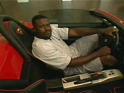 the silver car to the right in the below picture is shaq s