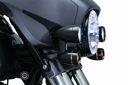 Lights Fairing Turn Driving Signals Kuryakyn Mounted