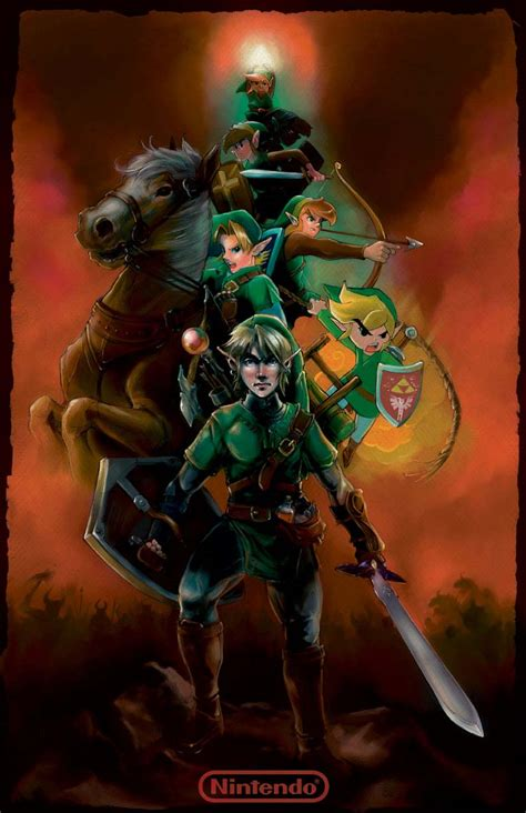 The Legend Of Zelda Series Fan Art
