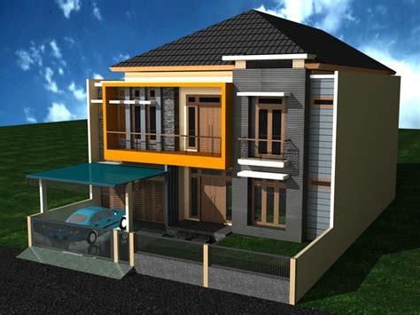 bentuk desain rumah minimalis  lantai desain tipe rumah