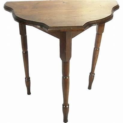Antique Wood Victorian Crafts Arts Oak Table