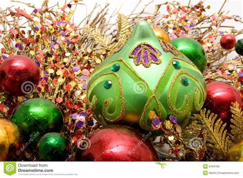 beautiful christmas ornaments royalty free stock images