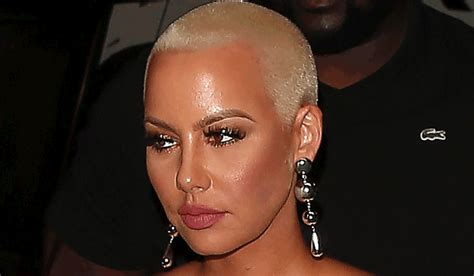 amber rose  git   young   bf pic