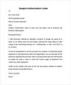 Sample Authorization Letter Format