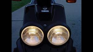 Dual Headlights On A Yamaha Zuma