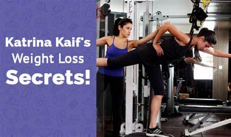 katrina kaifs weight loss secrets  wellness corner