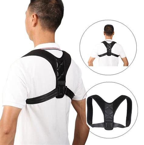 Adjustable Back Posture Corrector Clavicle Correction Belt ...