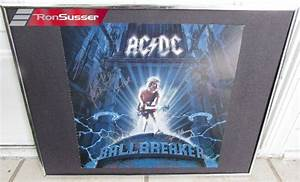 1995 AC/DC Ballbreaker Signed Album Cover Mounted Angus ...