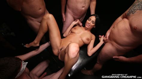 Busty Slut Anissa Kate Leaks Jizz From Twat And Spits Out