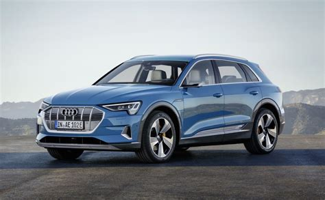 Fully Electric Cars by Audi Introduces Its Fully Electric Vehicle The E