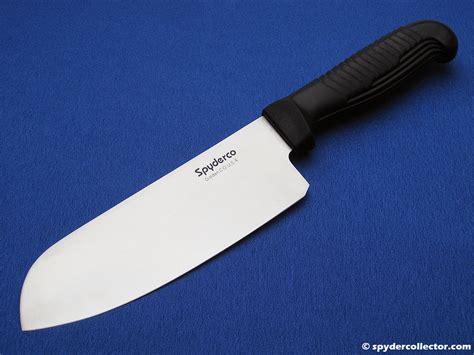spyderco kitchen knives review k08 santoku spydercollector