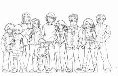 Coloring Anime Contest Deviantart Remixx Pages Groups