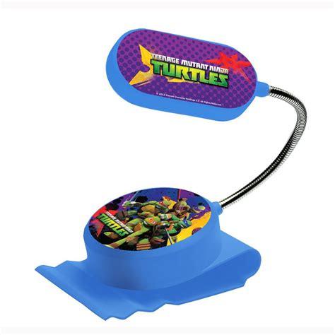light blue ninja turtle teenage mutant ninja turtles clip on bed light kids
