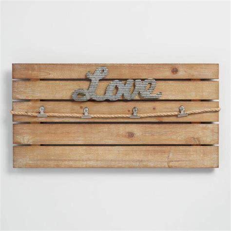 Wood slat feature wall for entryway. Love Slatted Wood | Clip Wall Frame | farmhouse decor | farmhouse shabby | shabby chic | laundry ...