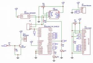 Smoke Detector Arduino Shield