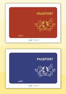 Passport Template For Students Twinkl Resources Gt Gt General Passport Templates