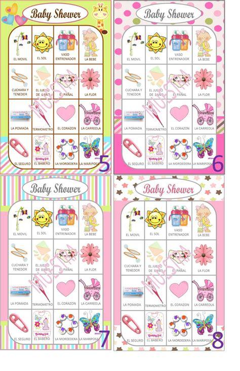Loter 237 A Para Baby Shower En Espa 241 Ol Juego Para Baby Shower