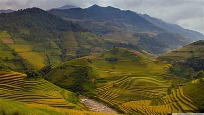 Vietnam Wallpapers Rice Terraces Desktop War Backgrounds