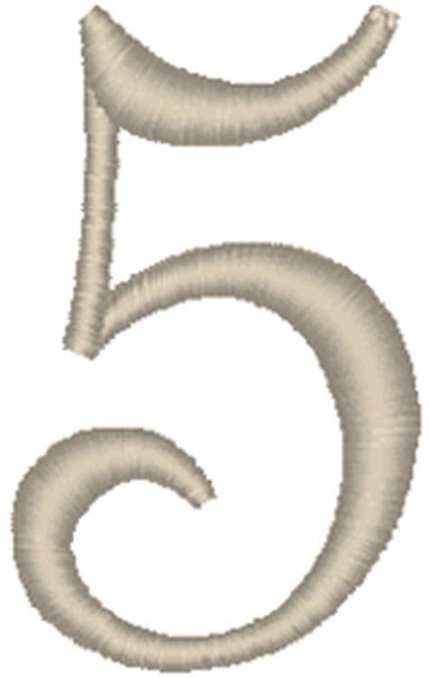 french script monogram alphabet embroidery design