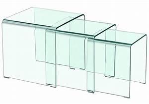 Table Basse Gigogne Verre : table basse pas cher de design exceptionnel ce n 39 est ~ Teatrodelosmanantiales.com Idées de Décoration