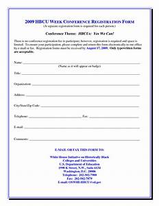 best photos of for conference registration form template With seminar registration form template word