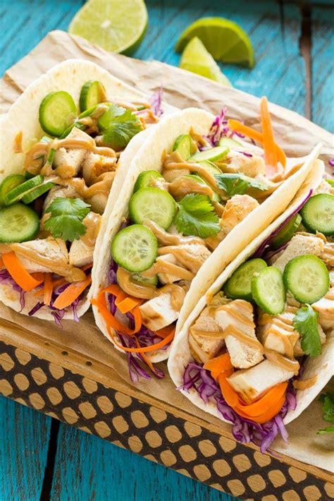 thai chicken tacos thai chicken tacos dinner at the zoo