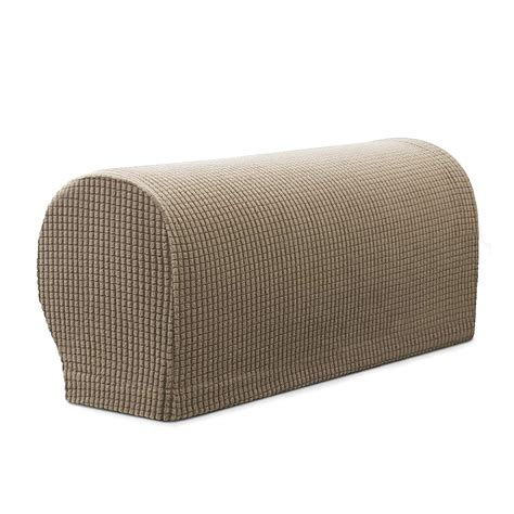 Sofa Arm Covers by Armrest Cover Stretch Fabric Sofa Recliner Arm Rest