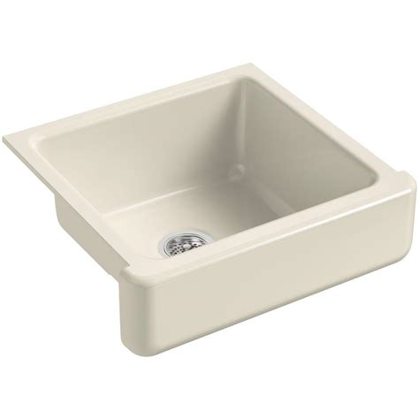 kohler whitehaven sink home depot kohler whitehaven farmhouse apron front cast iron 24 in