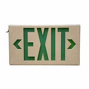 Battery Powered Lighted Exit Signs Lighting And Electrical Product Rentals Ce Rental Let