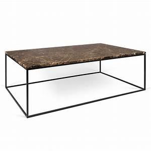 temahome gleam brown marble black long coffee table eurway With long marble coffee table