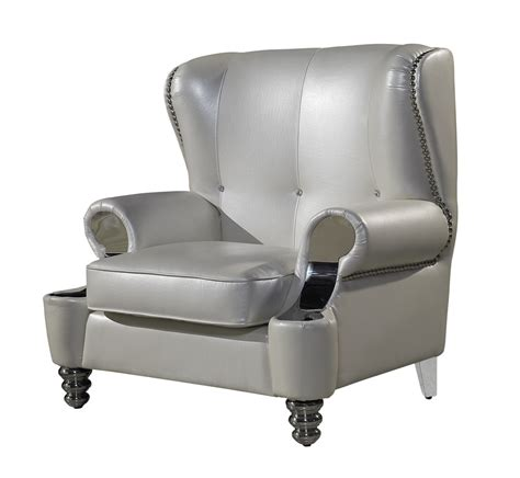pearly white leather royal living room sofa