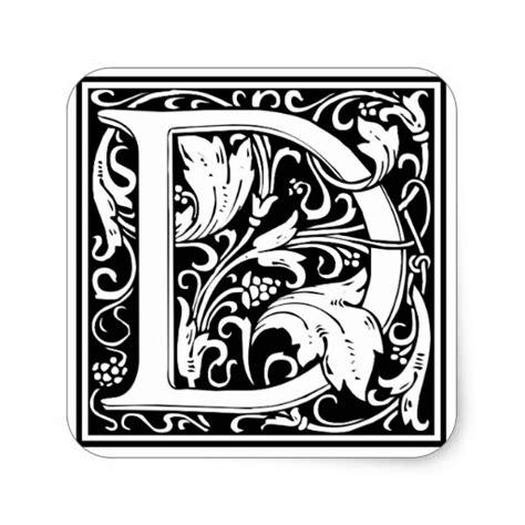 ornate knotwork monogram letter k stickers zazzle decorative letter initial d square sticker zazzle 45418