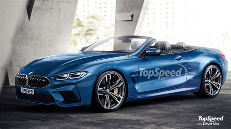 Bmw M8 Convertible Rendered By Top Speed