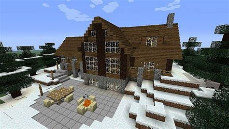 large cabin minecraft map