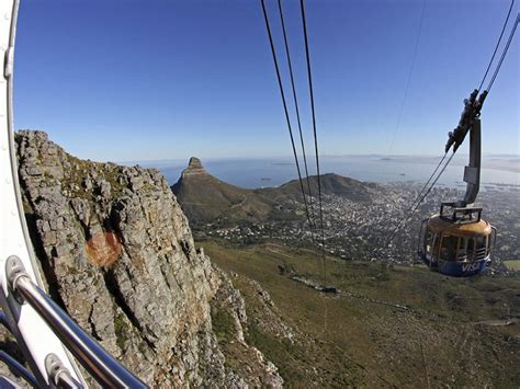 table mountain cable car take the cable car to the top of table mountain africa