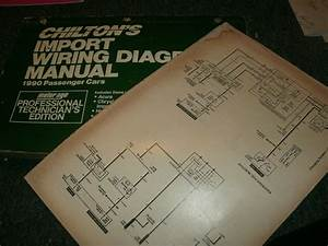 1990 Nissan 300zx 300 Zx Wiring Diagrams Schematics Manual