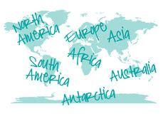 pochoir de carte du monde illustration stock illustration du global 38122661