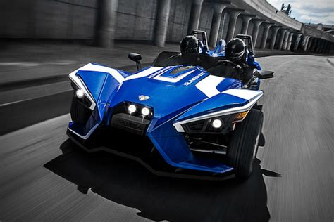 Style & Speed! The 2016 Polaris Slingshot Sl Le
