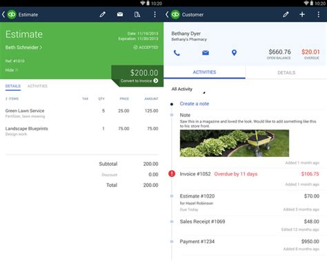 quickbooks for android 10 best android apps for business