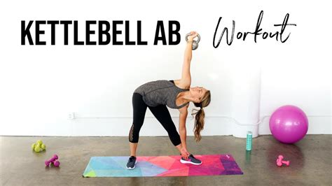 kettlebell exercises abs